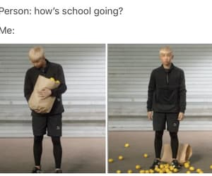 bts, funny, and rap monster image