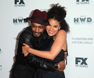 lakeith stanfield and zazie beetz image