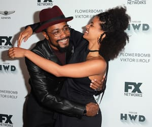zazie beetz and lakeith stanfield image