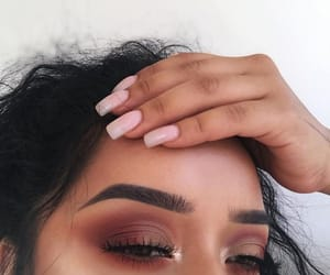 nails, makeup, and make up image