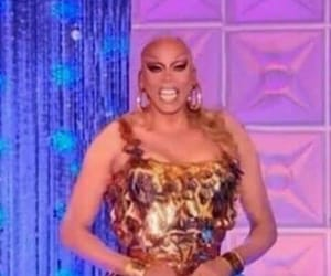 drag race, reaction, and RuPaul image