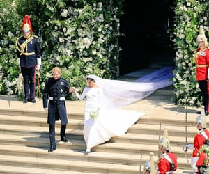 royal wedding, prince harry, and meghan image