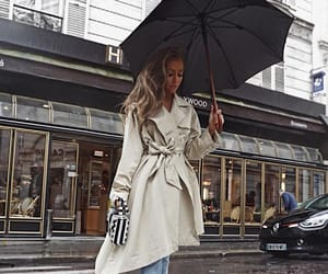 rain and raincoat image