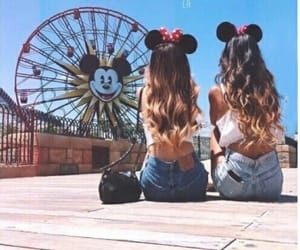 bff, paradise pier, and california image