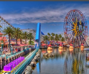 california, disneyland, and summer image