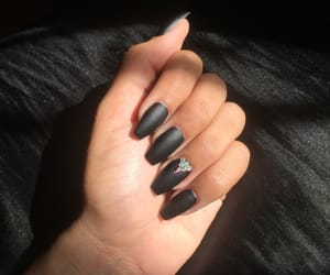 coffin, nails, and blacknails image