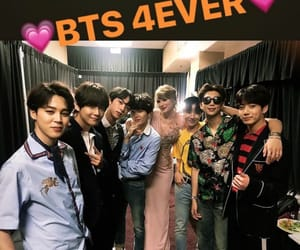 Taylor Swift and bts image