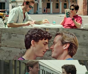 movie, oliver, and call me by your name image