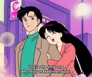 anime, couple, and sailor moon image
