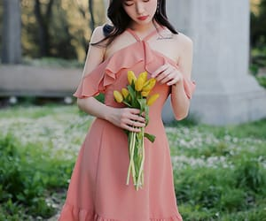 asian fashion, dress, and ops image