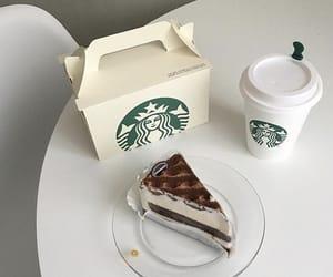 cake, food, and starbucks image