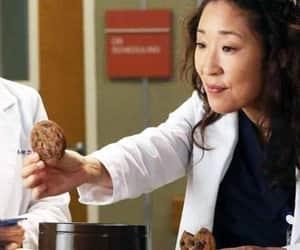 actress, Cookies, and cristina yang image