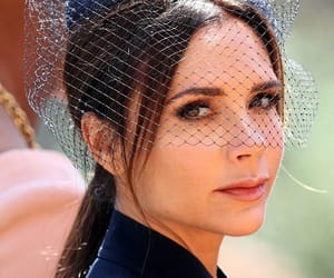 victoria beckham and royal wedding image