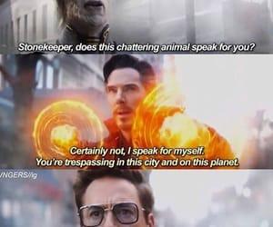 iron man, tony stark, and doctor strange image