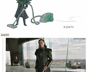 loki, Avengers, and funny image