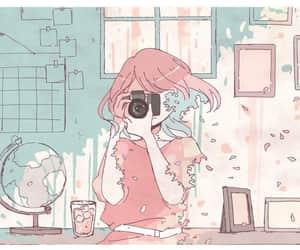anime girl, kawaii, and pastel image