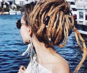 Chica, rastas, and cabello image
