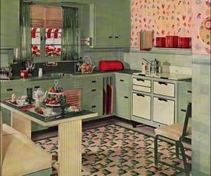 vintage, kitchen, and retro image