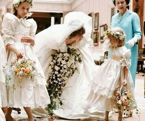 wedding, princess diana, and diana image