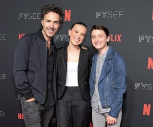 millie bobby brown and noah schnapp image