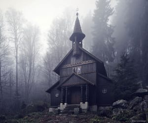 abandoned, chapel, and aesthetic image