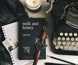 aesthetic, book, and milk and honey image