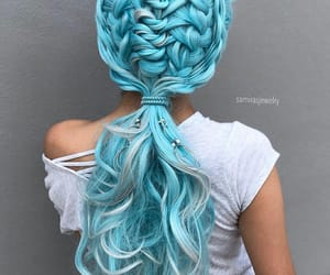 accessories, hairstyle, and haircolor image