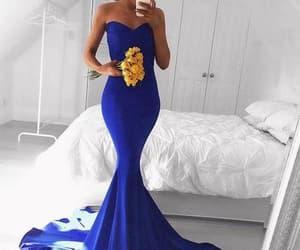 dress, evening dress, and selfie image
