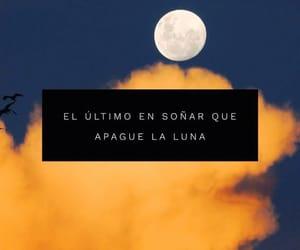 amor, frases, and luna image