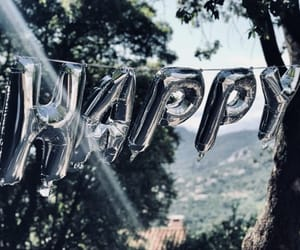 balloon, happy, and inflatable image