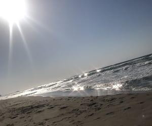 blue, shine, and sand image