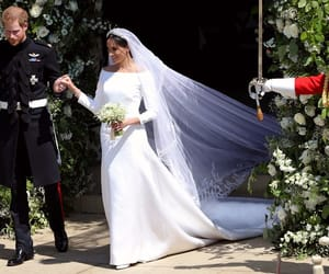 bride, gown, and prince harry image