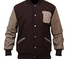 biker jacket, black jacket, and motivation image