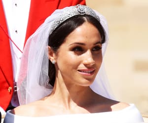 bride, meghan markle, and marry image