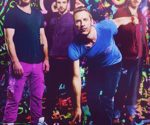 coldplay, Chris Martin, and guy berryman image