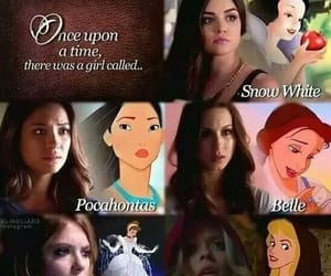 pretty little liars, pll, and disney image