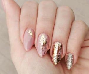 nail art, glitter nail art, and diy ideas image
