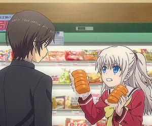 anime, anime girl, and charlotte image