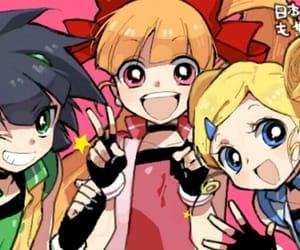 anime, blossom, and powerpuff girls image