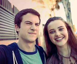 boy, girl, and 13 reasons why image