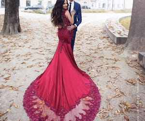 beauty, couple, and Couture image