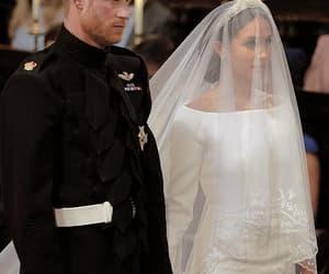 couple, prince harry, and royal wedding image