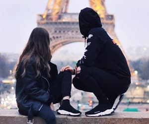 couple, french youtuber, and youtube image