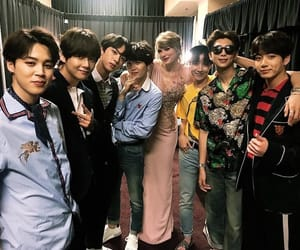 jin, Taylor Swift, and bts image
