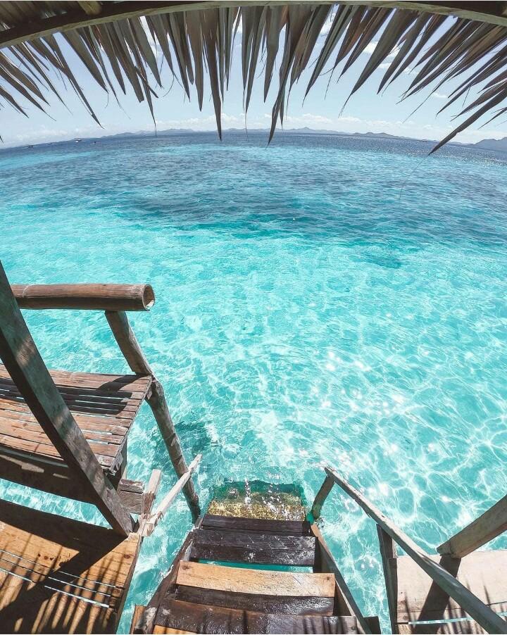 Summer Wow Maldives Bora Bora Islands Green Blue