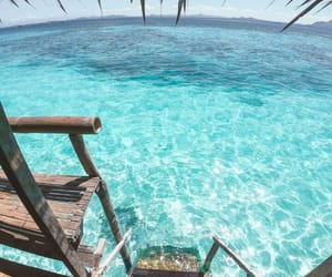 deep, paradise, and sea image