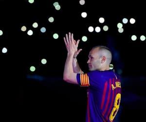 Barca, futbol, and king image
