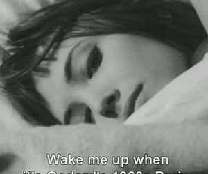 60's, wake up, and Dream image
