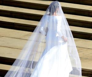 royal wedding, bride, and meghan markle image