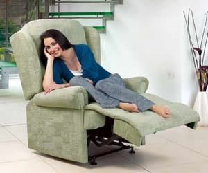 furniture, comfortable chair, and recliner chair image